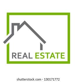real estate sign - vector illustration