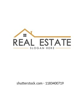 Real Estate simple logo design