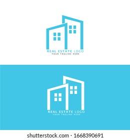 Real Estate simple logo design