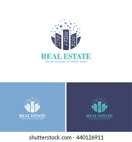 Real Estate Vector Icons, Logos, Sign, Symbol Template