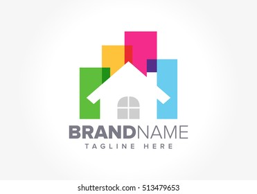 real estate vector logo template