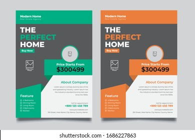 Real Ested abstract vector template. Brochure design, cover modern layout, annual report, poster, flyer in A4 with colorful triangles, geometric shapes for tech, science,