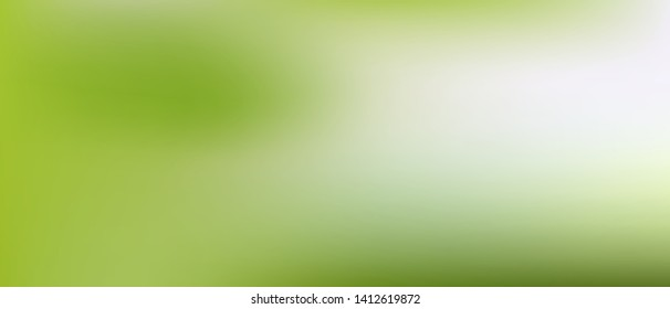 Real good simple Ultra Wide background illustrations. Funny hi-res 21 to 9 and fresh. Illustration, blur. Green color.