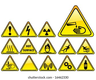 real hazards safety sign - part 3/4