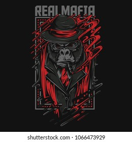 Real Mafia Illustration