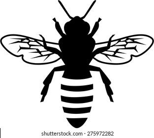 Bee Silhouette Images Stock Photos Vectors Shutterstock Check out our bee silhouette selection for the very best in unique or custom, handmade pieces from our digital shops. https www shutterstock com image vector real silhouette bee 275972282