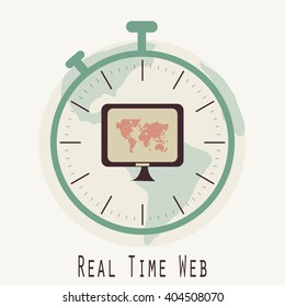 Real Time Web Vector