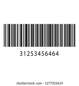 Realistic barcode icon. Barcode vector illustration. - Vector EPS10