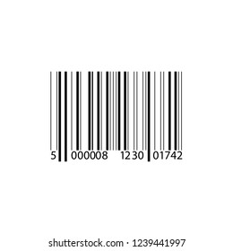 Realistic Barcode icon.Vector Illustration.EPS 10