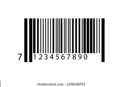Realistic Barcode icon.Vector Illustration.EPS 10 - Vector