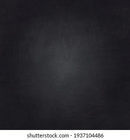 Realistic black wall texture, abstract background - Vector illustration