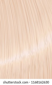 Realistic blond straight hair background