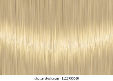 Realistic blond straight hair texture