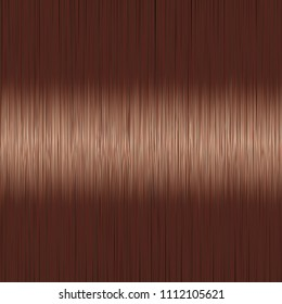 Realistic brown straight hair background