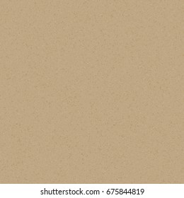 Realistic brown vector kraft paper texture background