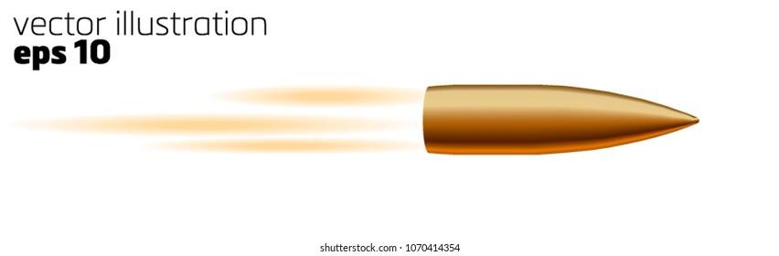 realistic bullet flies