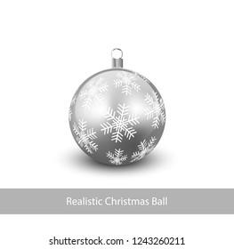 Realistic Christmas Ball