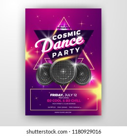 Realistic Club Party Flyer
