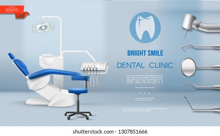 Realistic Dental Office Template