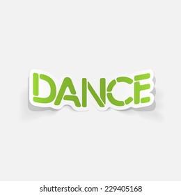 realistic design element: dance