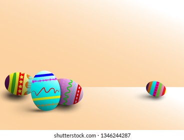 realistic eggs background