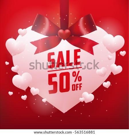 Realistic hearts happy valentines day greetings stock vector realistic hearts with happy valentines day greetings celebration card vector illustration wallpaper m4hsunfo