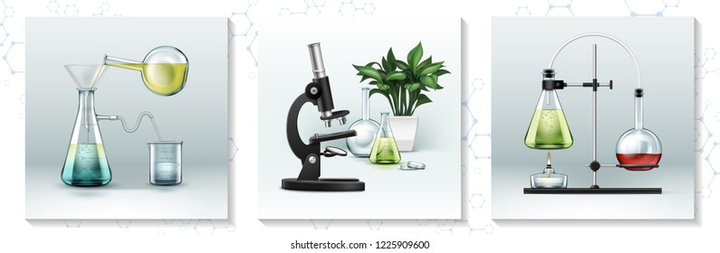 Realistic Laboratory Research Concept