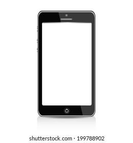 Realistic mobile phone smartphon