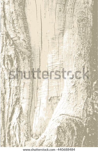 Realistic rough tree bark wood with cracks, speck, splinter, branch knot and twigs grunge background  texture pattern. Natural forest backdrop