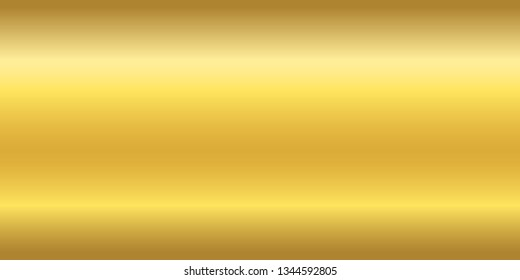 Realistic shiny gold texture vector pattern