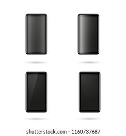 Realistic smartphone vector design elemnt