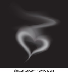 Smoke Heart Shape Images, Stock Photos & Vectors | Shutterstock