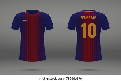super popular f2ea4 b9659 Barcelona Soccer Messi Stock Vectors, Images & Vector Art ...