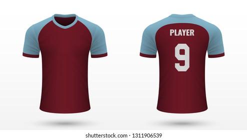 def482bcb0b Realistic soccer shirt Burnley