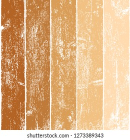 Realistic texture wood planks with natural structure. This background is painted in five colors and can be easily and quickly recolorabled. Several various shades of brown color.