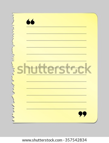 Realistic torn notebook page yellow note stock vector royalty free realistic torn notebook page yellow note book page with lines old teared paper on maxwellsz