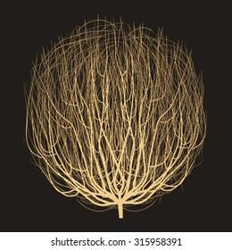 realistic tumbleweed