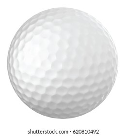 Realistic vector golf ball
