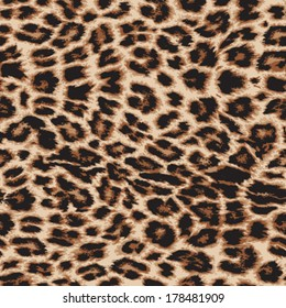 Leopard print images stock photos vectors shutterstock realistic vector leopard print repeat pattern in 4 colors thecheapjerseys Choice Image