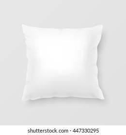 Realistic vector pillow