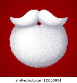 Santa Beard and Moustache VRS