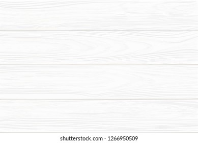 Realistic white wooden background: wide horizontal planks. Hand drawn, no trace.