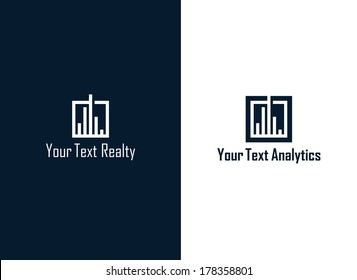 Realty analytics symbol