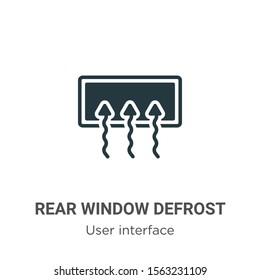 Rear Window Defrost Images Stock Photos Vectors Shutterstock