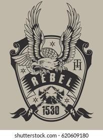 Rebel eagle