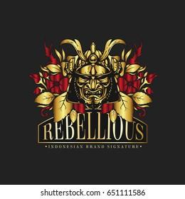 Rebellious Logo Vector