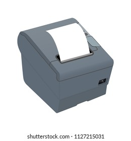 Receipt printer for POS system or thermal printer