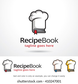Recipe Book Logo Template Design Vector Design