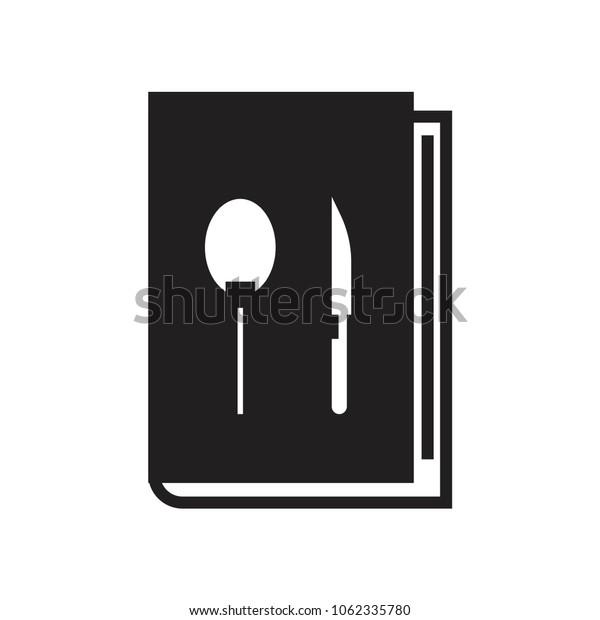 Recipe  icon vector