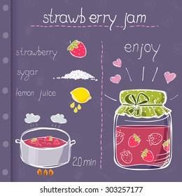 recipe for strawberry jam